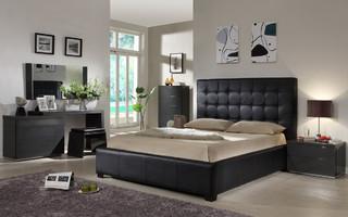 Italian Quality Platform Bedroom Set With Extra Storage Modern Bedroom Fu