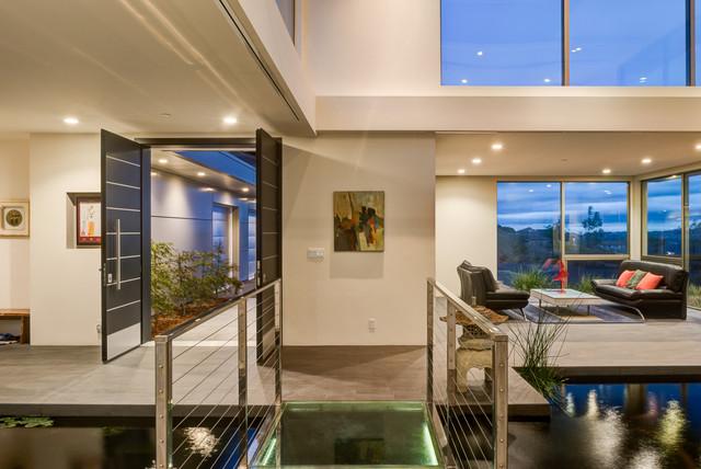 Mt diablo contemporary prefab steel home for Kitchen design 47905