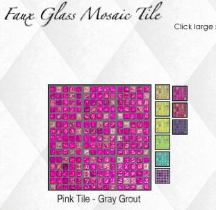 Removable Amp Reusable Faux Glass Mosaic Tile Eclectic