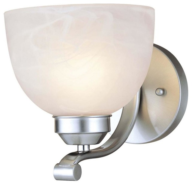 Brushed Nickel 1 Light 6.5