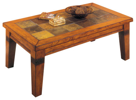 Alpine Rectangle Cocktail Table Traditional Coffee Tables By Tscshops