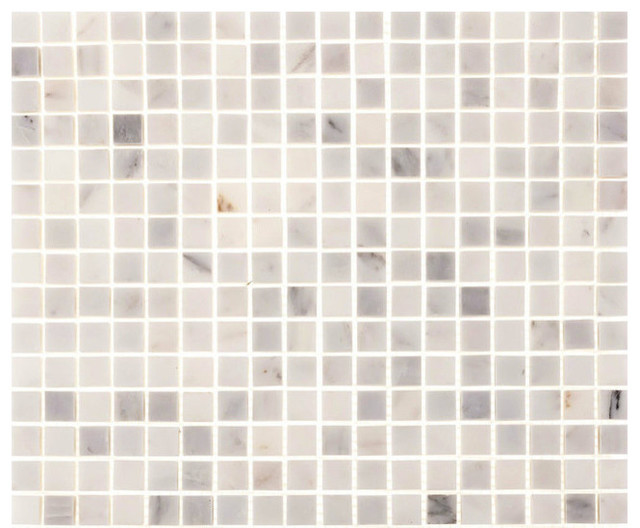 Aspen White Marble 5 8 Quot X5 8 Quot Square Tiles Backsplash
