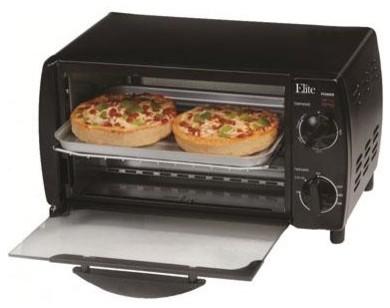4-Slice Toaster Oven Broiler - Modern - Toaster Ovens