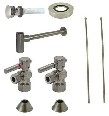 Sink Plumbing Parts : ... Trap For Vessel Sink contemporary-bathroom-sink-and-faucet-parts