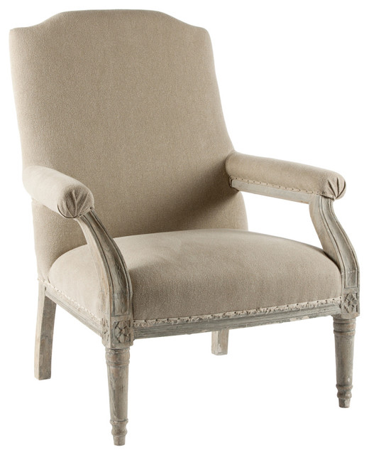 William French Country Salon Arm Chair Farmhouse