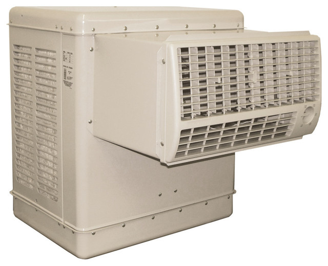 Essick 4200 CFM Window Cooler for 1400 Square Feet - Contemporary - Electric Fans - by Air ...