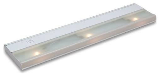 Kichler 10581WH Modern Three Light Under Cabinet Light, Direct Wire Low V Xenon - Contemporary ...