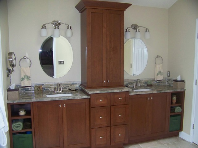 Cary Nc Master Bath Remodel Transitional Raleigh By