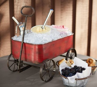 red wagon party bucket eclectic ice tools and buckets sacramento by pottery barn. Black Bedroom Furniture Sets. Home Design Ideas