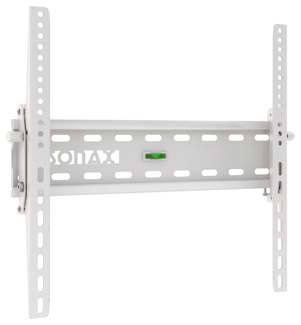 Tilting Flat Panel White Wall Mount - Contemporary - Entertainment Centers And Tv Stands - by ...