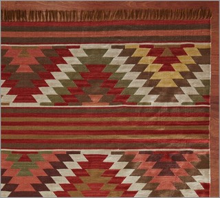 Farah Diamond Recycled Yarn Indoor/Outdoor Rug - Eclectic - Rugs - by ...