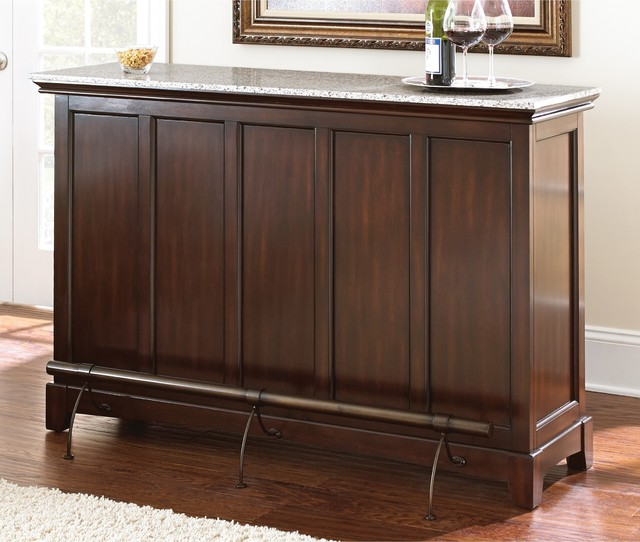 Custom Design Cabinetry Norwood ~ Norwood home bar with foot rail contemporary drinks