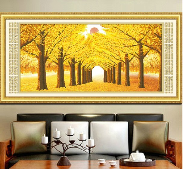 Crafts handmade cross-stitch canvas - Contemporary - Prints And Posters - other metro - by ...