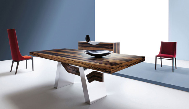 Dining room tables modern dining tables dc metro for Dining room tables houzz