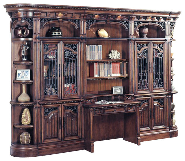 Parker house barcelona library hutch and desk victorian Victorian home furniture