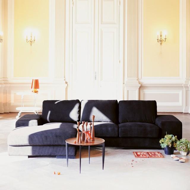 Barcelona sofa 2 5 sitzer mit longchair links moderno for Sofas modernos barcelona