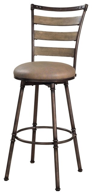 Hillsdale Thornhill 24 Inch Swivel Counter Height Stool