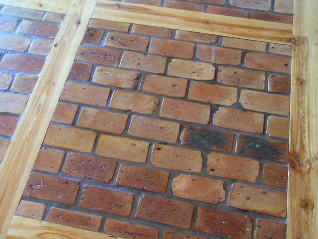 Old Chicago Brick Floor