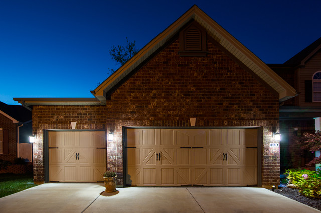 LED Garage Driveway And House Number Lighting Traditional Outdoor Light