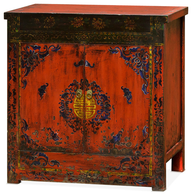 Shop Houzz China Furniture And Arts Tibetan Style Reclaimed Wood