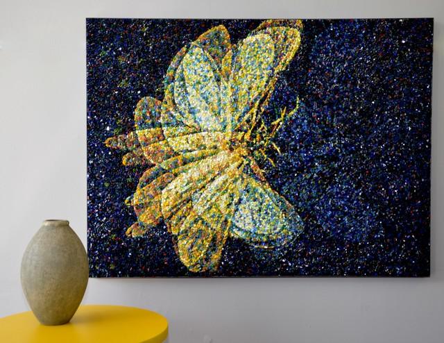 original mosaic wall art contemporary artwork melbourne by mosaic republic. Black Bedroom Furniture Sets. Home Design Ideas