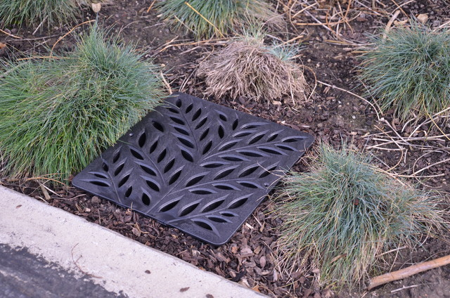 Decorative Yard Drainage : Nds botanical decorative catch basin grates outdoor