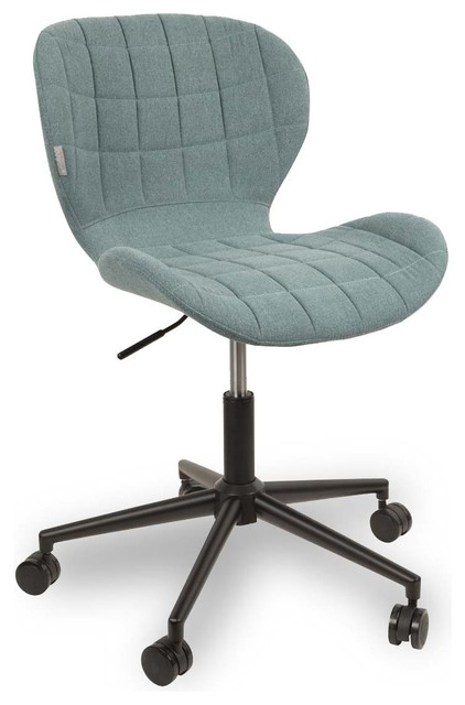 chaise de bureau design omg couleur bleu modern office