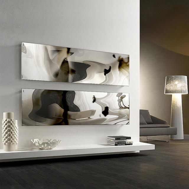 Designer Heizkorper Minimalistischem Look - Design