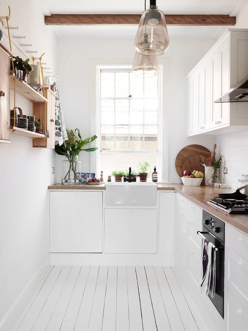 Kitchen at Swedish Summer House