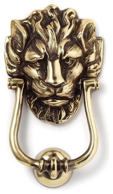 Downing street lion door knocker polished traditional for 10 downing street lion authentic foundry door knocker
