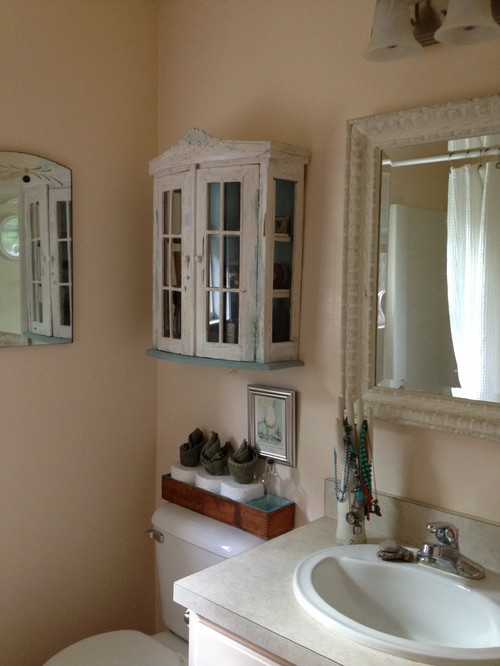 turn a closet into a powder room 2