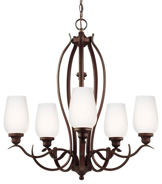 Murray Feiss Vintner: Murray Feiss Standish 13W LED Transitional Chandelier