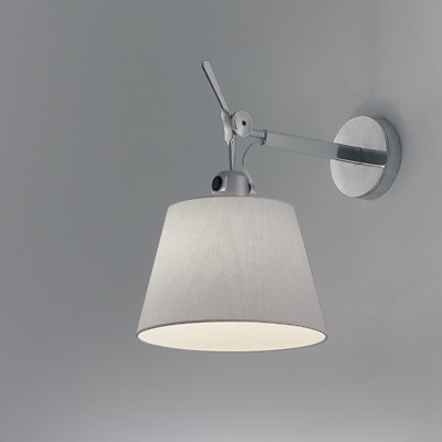 Tolomeo Wall Mount Lamp Parchment Shade : Tolomeo Shade Spot Wall Light - Modern - Wall Sconces - by Lightology