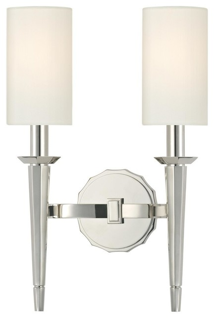 Wall Sconces Bathroom Vanity : Hudson Valley 8882-AGB Tioga 2 Light Wall Sconce in Aged Brass - Traditional - Bathroom Vanity ...