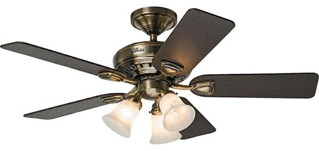 Hunter prestige ceiling fan 28791 bixby 46 ceiling fan in for Hunter prestige fans