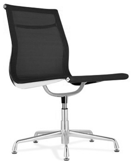 Aluminum mesh side chair modern office chairs by modern