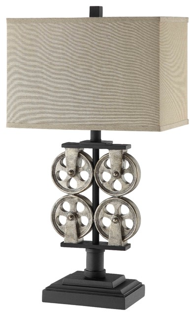 Whitmore Resin Table Lamp Industrial Table Lamps By