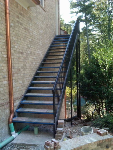 Spiral Staircase Metal Stairs Contemporary Outdoor