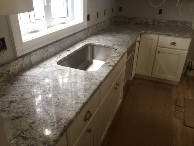 Thunder White Granite Tops - Modern - Kitchen Countertops ...