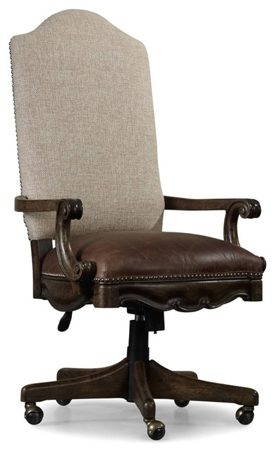 Hooker Furniture Rhapsody Tilt Swivel Chair Traditional Office Chairs By Seldens Furniture