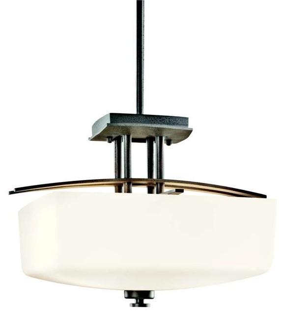 lodge country rustic semi flush mount rustic ceiling lighting. Black Bedroom Furniture Sets. Home Design Ideas