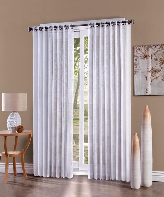 EZ Slide Vertical Blind Curtain Panel