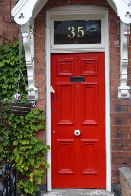 gold house numbers traditional front doors other metro by the fanlight number co