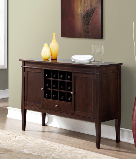 Carlton Sideboard Buffet amp Winerack : dining room from houzz.com size 548 x 640 jpeg 71kB