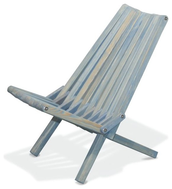 Chair X36 Sky Blue Modern Folding Garden Chairs by GloDea