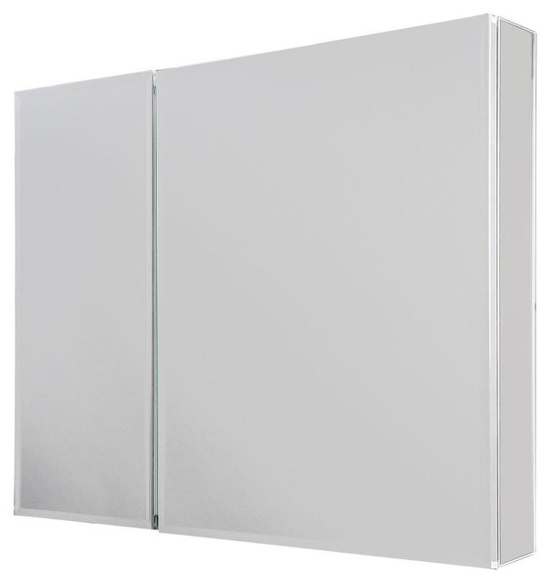Glacier Bay Cabinets 30 in. x 26 in. Recessed or Surface Mount Medicine Cabinet - Contemporary ...