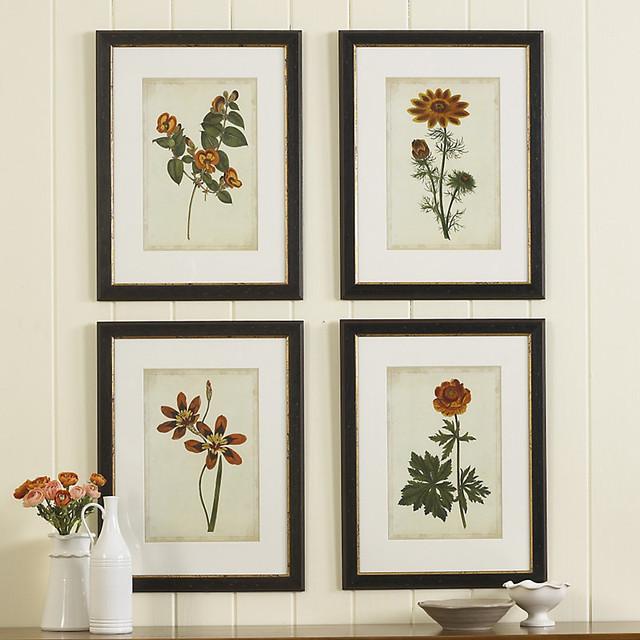 ballard designs individual vibrant botanical giclee print
