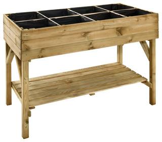 carr potager gariguette 120 x 60 cm modern pflanzk bel von castorama. Black Bedroom Furniture Sets. Home Design Ideas