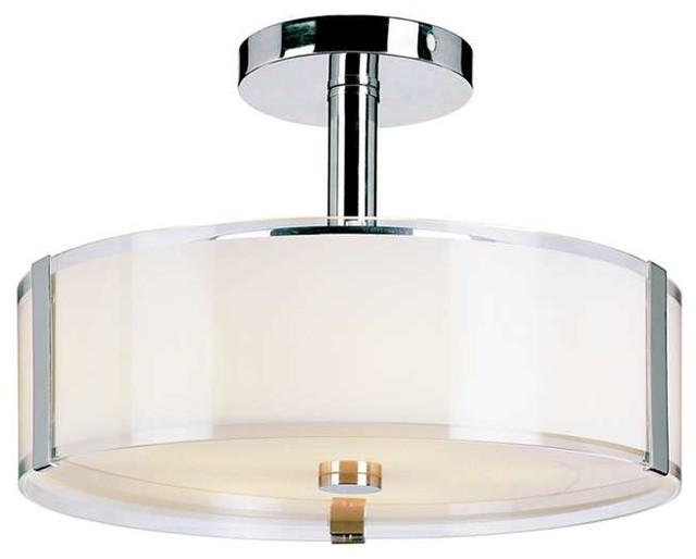 Trans Globe 5 Light Semi Flush Mount Contemporary Flush Mount Ceiling Lig