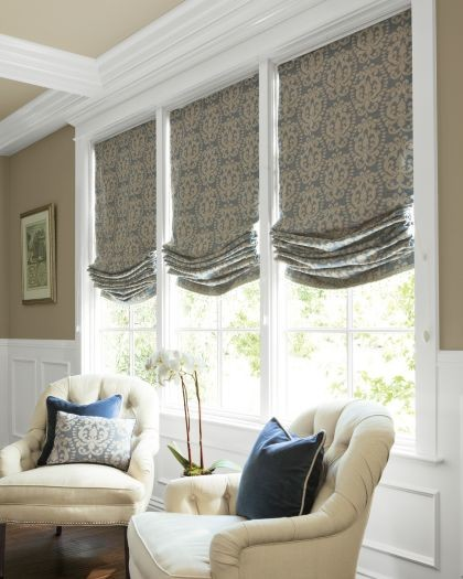 Living room window treatments other metro de melinda for Smith and noble shades
